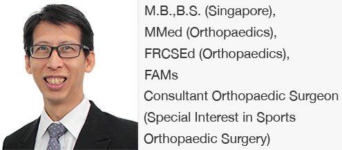 Dr Bernard Lee: Shoulder | Elbow Orthopaedic Group
